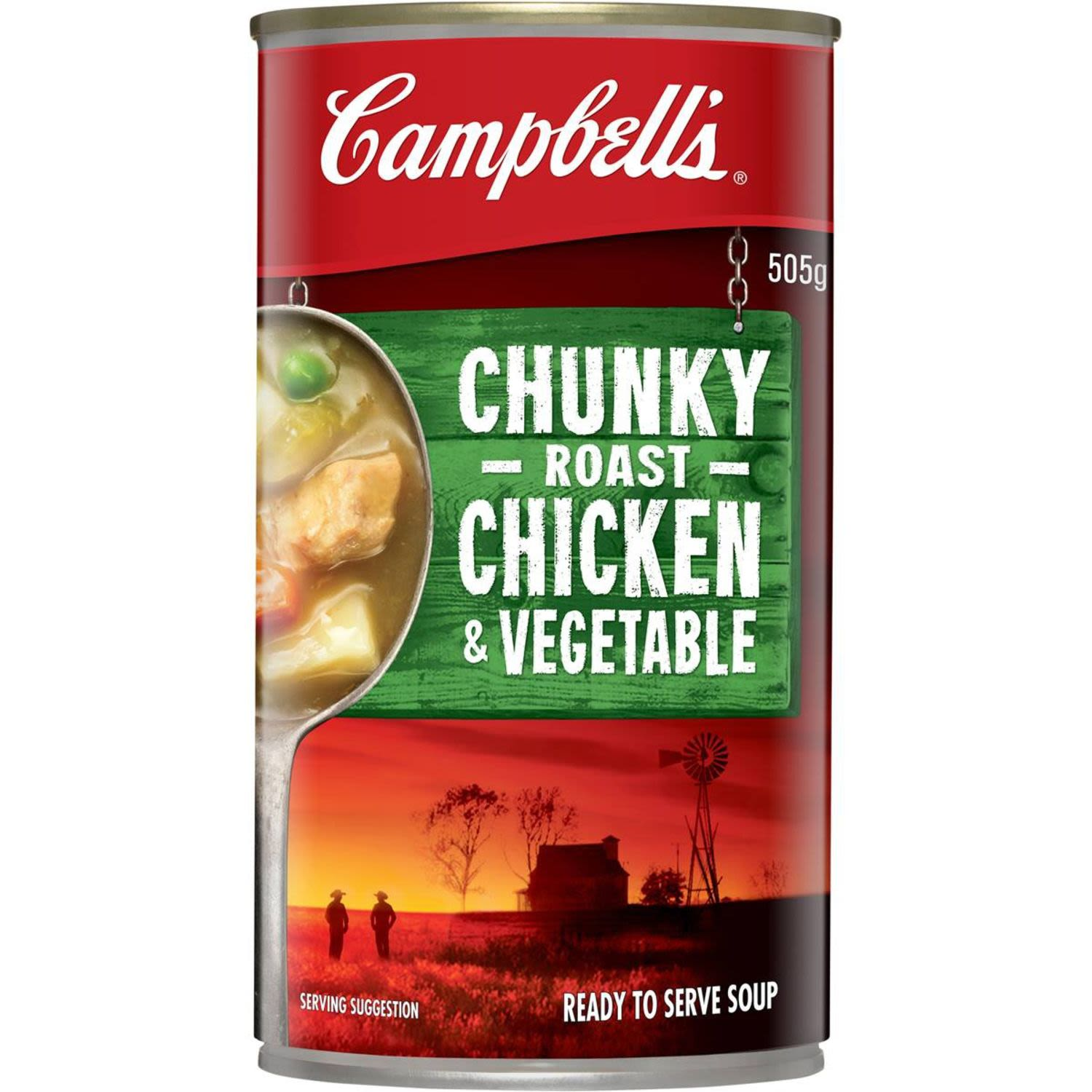 Campbell's Chunky Canned Soup Roast Chicken & Vegetable, 505 Gram