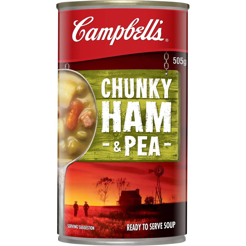Campbell's Chunky Ham & Pea Ham & Pea, 505 Gram