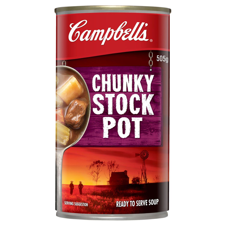 Campbell's Soup Chunky Stock Pot, 505 Gram