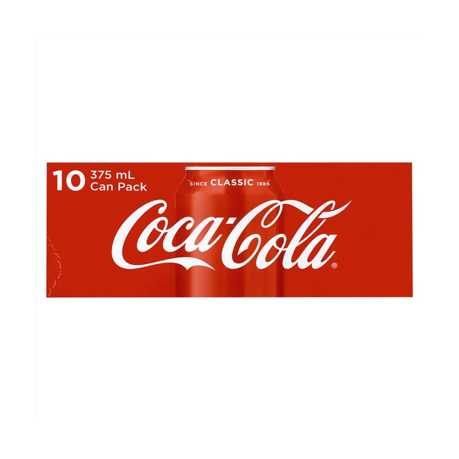 Coca-Cola Classic Multipack Cans, 10 Each