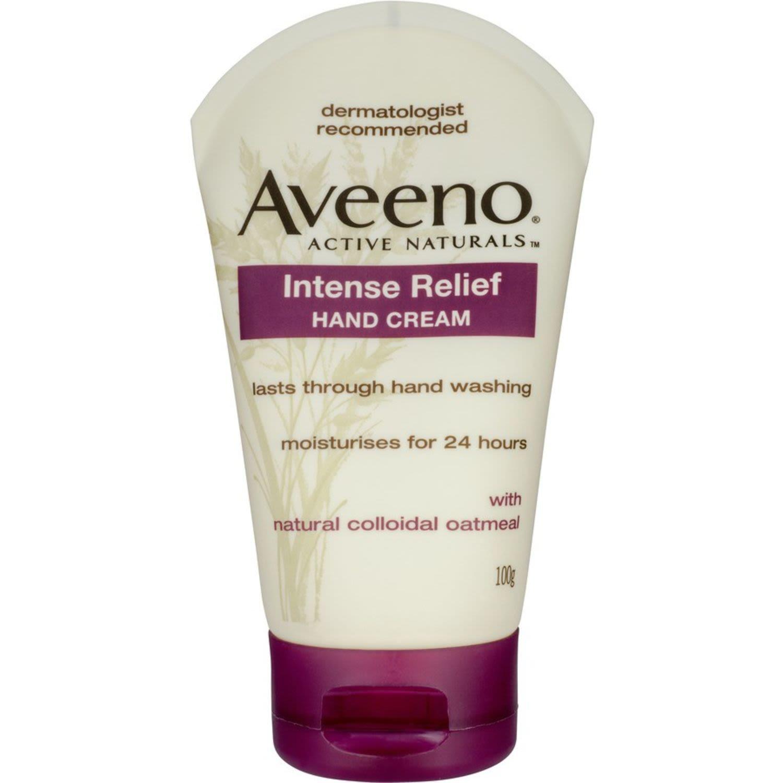 Aveeno Hand Cream Intense Relief, 100 Gram