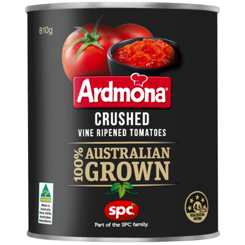 Ardmona Tomatoes Crushed, 810 Gram