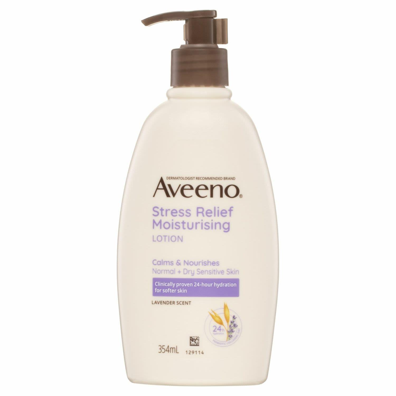 Aveeno Active Naturals Stress Relief Moisturising Lotion, 354 Millilitre