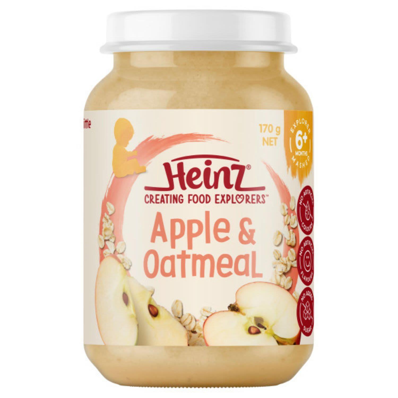 Heinz 6 Months Apple & Oatmeal, 170 Gram
