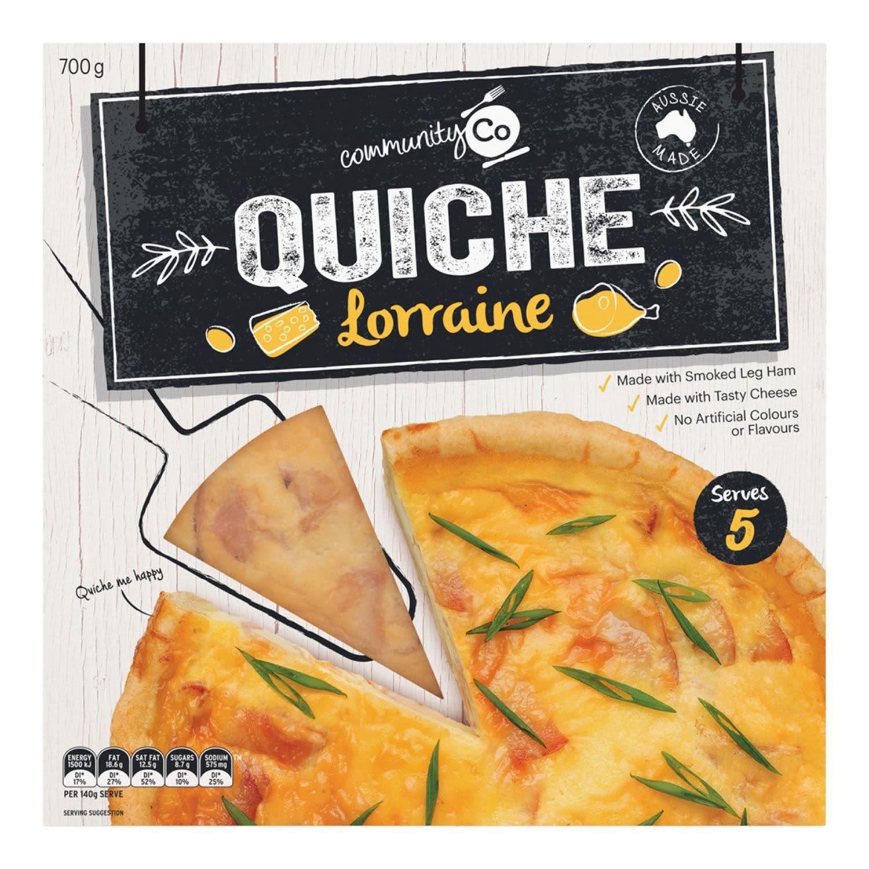Community Co Quiche Lorraine, 700 Gram