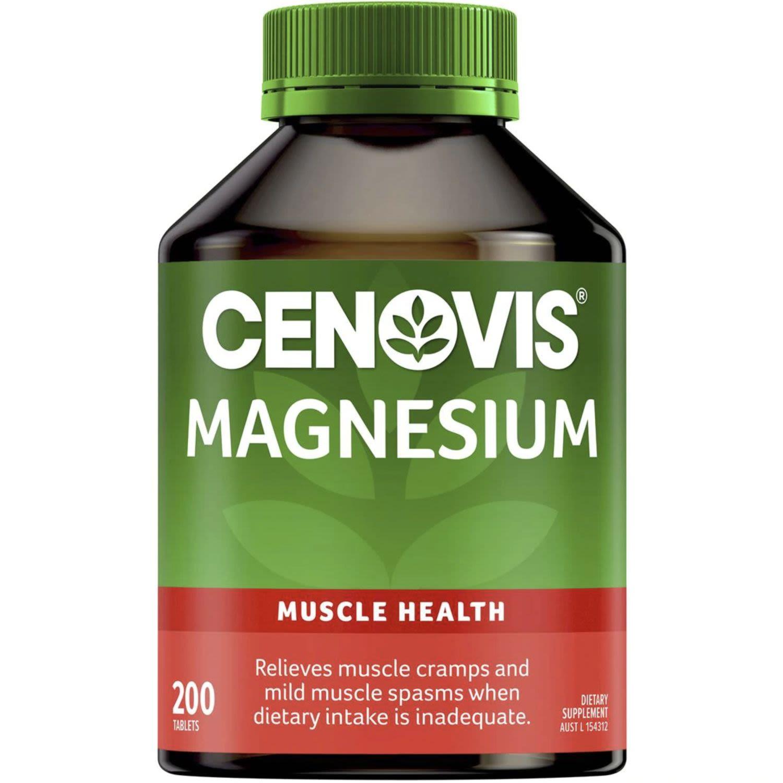 Cenovis Magnesium Tablets Value Pack, 200 Each