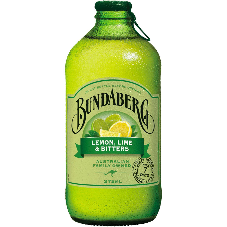 Bundaberg Lemon Lime & Bitters, 375 Millilitre