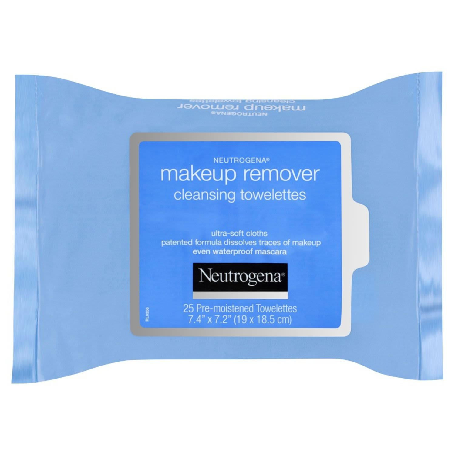Neutrogena Makeup Remover Cleansing Towelettes Refill, 25 Each