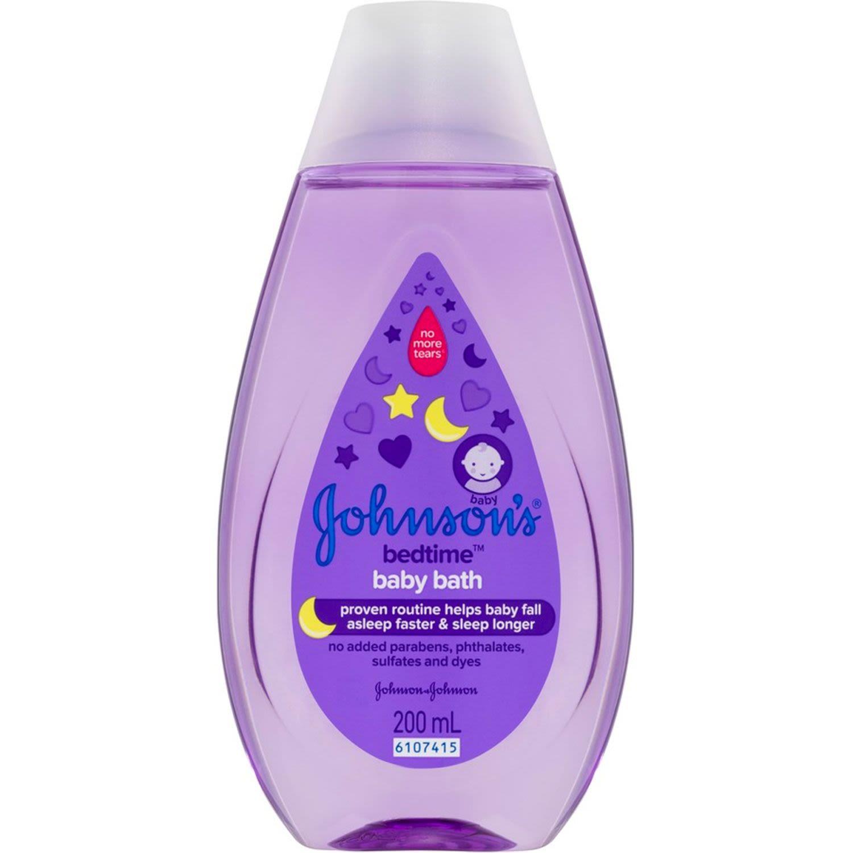 Johnson's Baby Bedtime Bath, 200 Millilitre