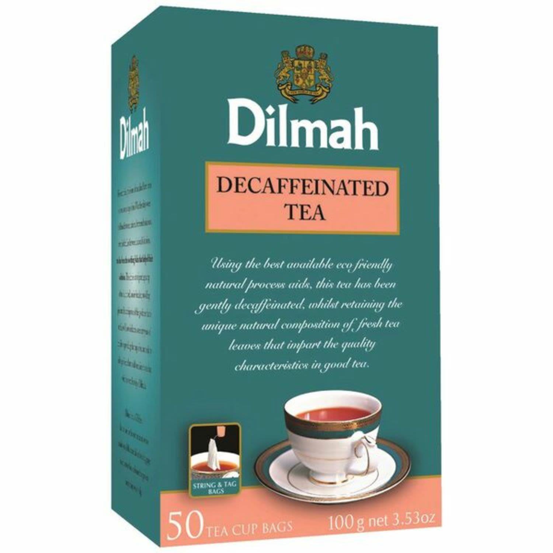 Dilmah Decaffeinated Tea Bag, 50 Each