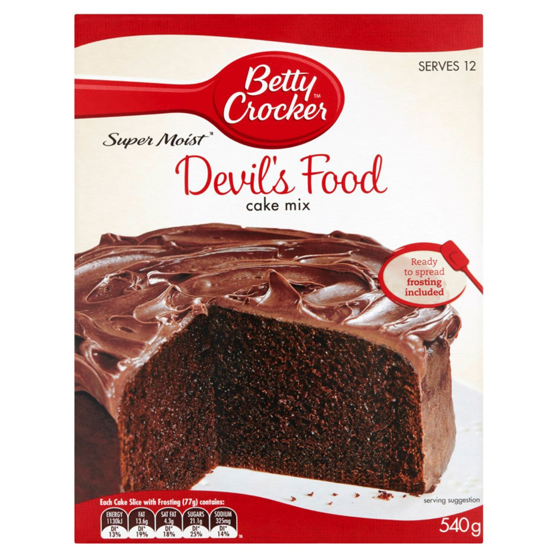 Betty Crocker Devil's Food Cake Mix, 540 Gram