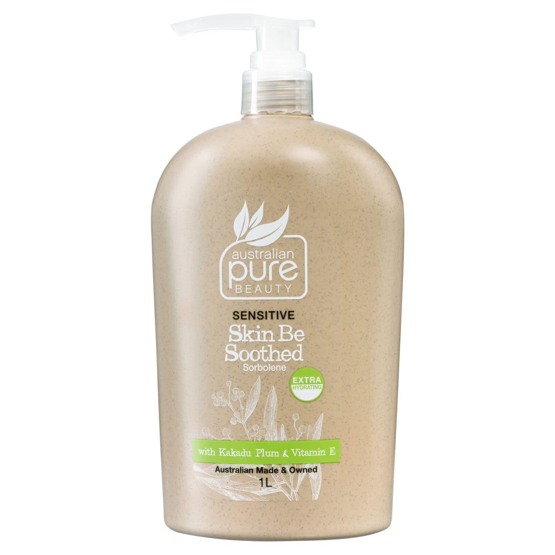 Australian Pure Beauty Sensitive Skin Be Soothed Sorbolene With Kakadu Plum & Vitamin E, 1 Litre