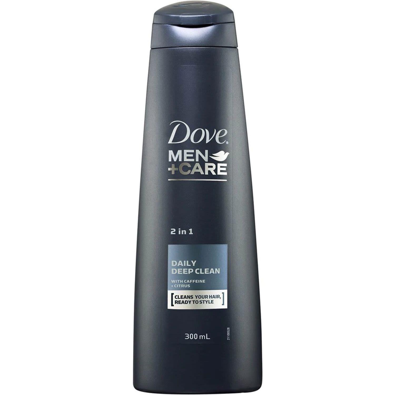 Dove Hair Shampoo Daily Deep Clean 2 in 1, 300 Millilitre