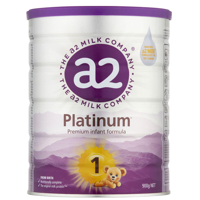 A2 Platinum Infant Formula Stage 1 0-6 Months, 900 Gram