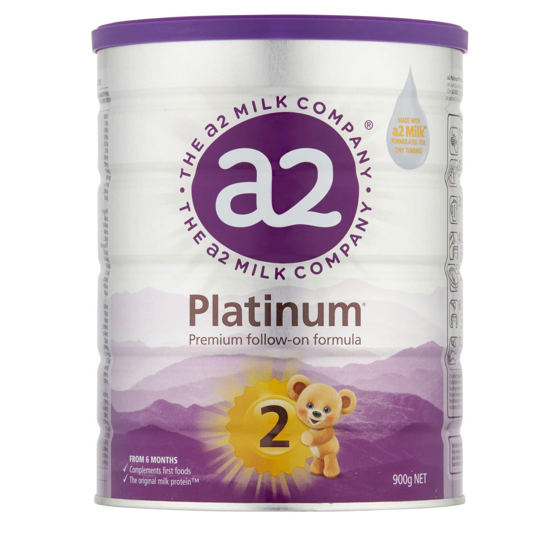 A2 Platinum Follow-On Formula Stage 2 6-12months, 900 Gram