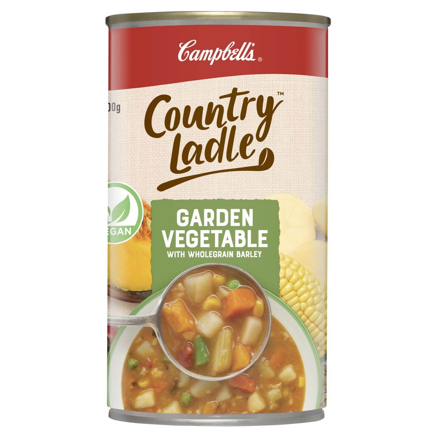 Campbell's Country Ladle Soup Garden Vegetable, 500 Gram