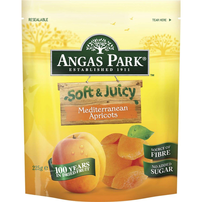 Angas Park Apricots Soft & Juicy, 225 Gram