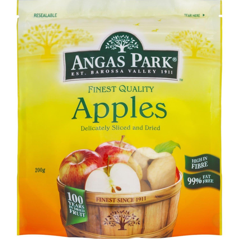 Angas Park Dried Apples, 200 Gram