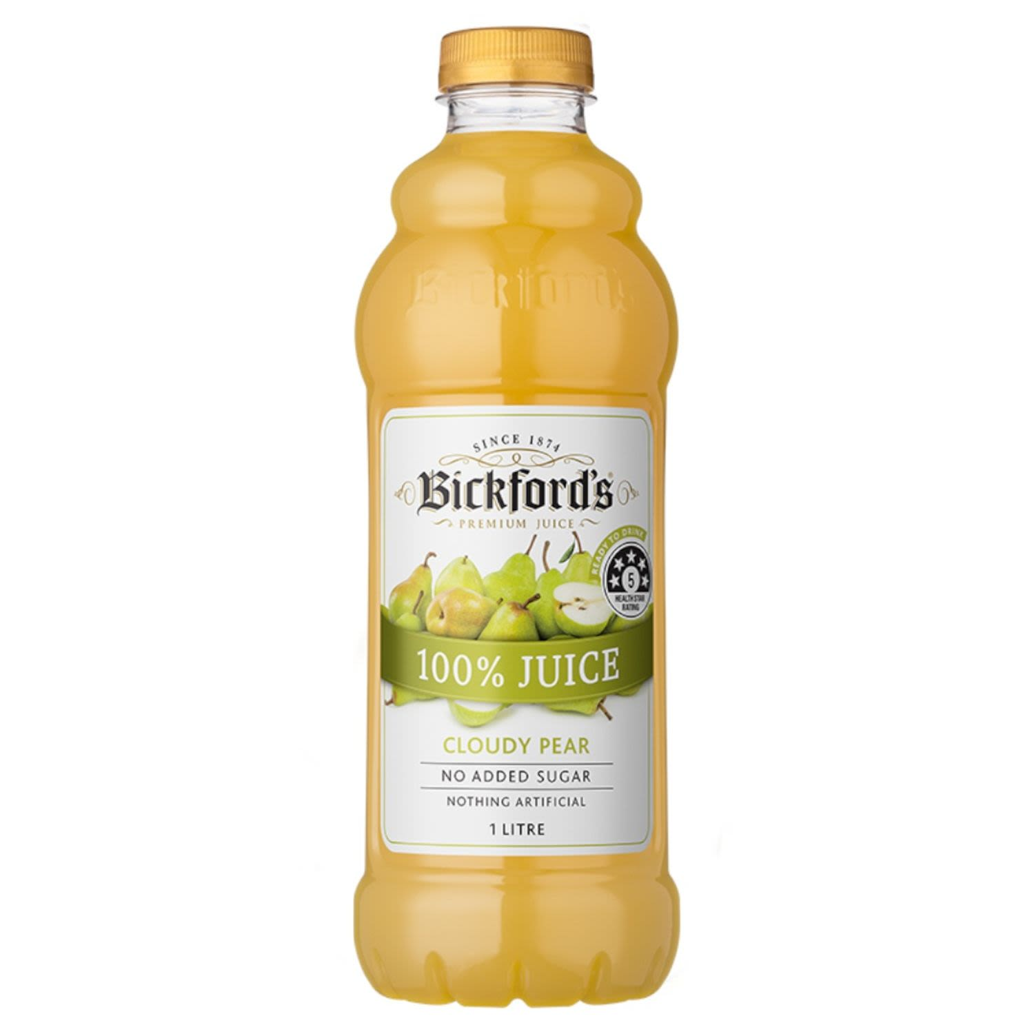 Bickford's Cord Cloudy Pear, 1 Litre