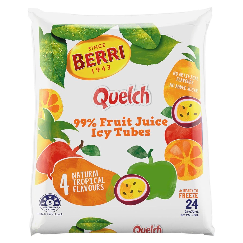 Berri Quelch Tropical, 24 Each