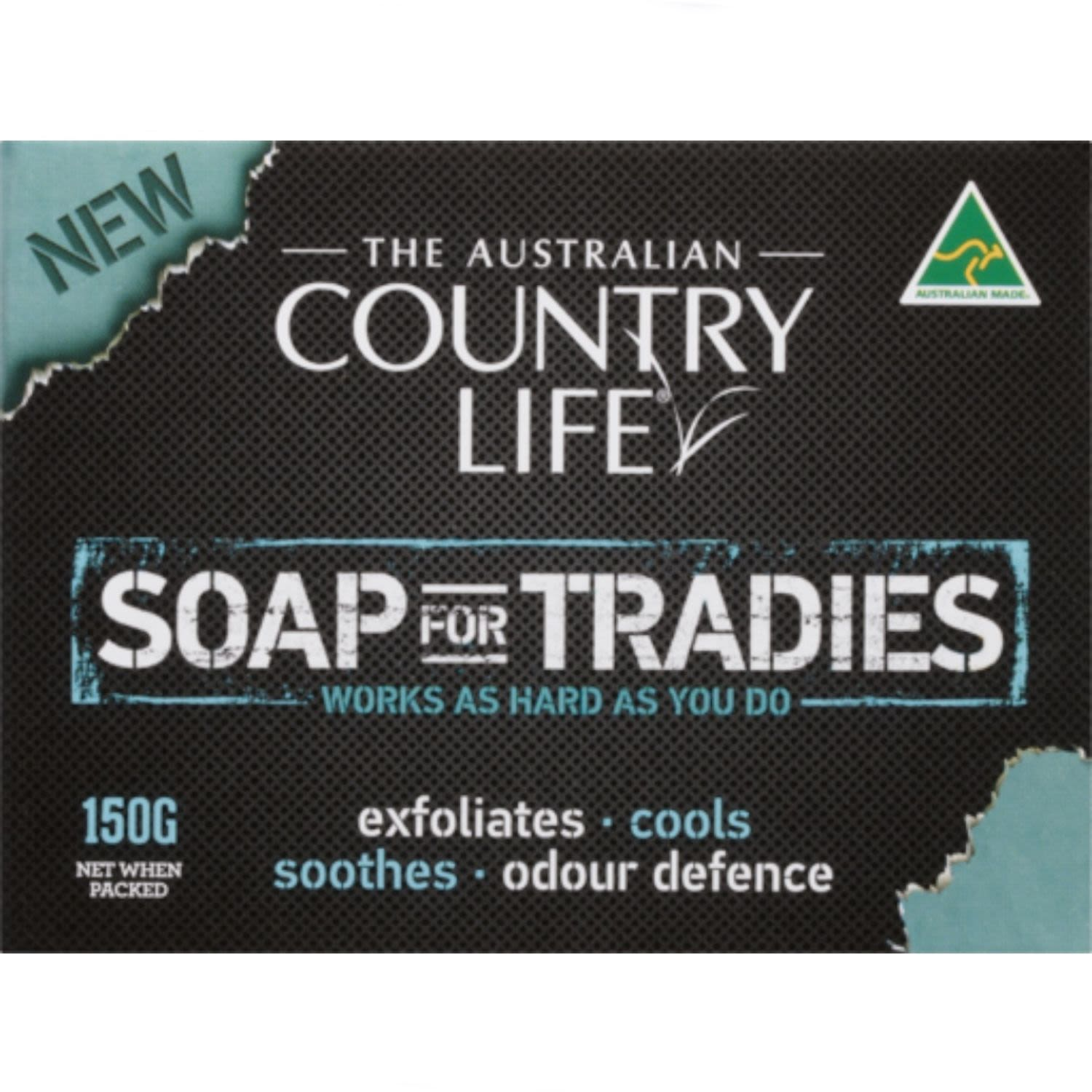 Country Life Soap For Tradies, 150 Gram