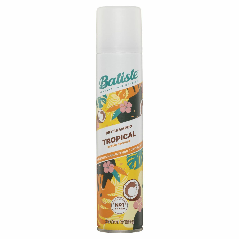 Batiste Dry Shampoo Tropical, 200 Millilitre