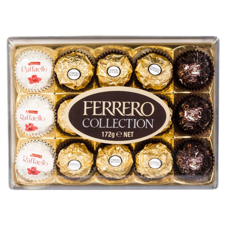 Ferrero Collection Chocolates Rocher Rondnoir Raffaello, 15 Each