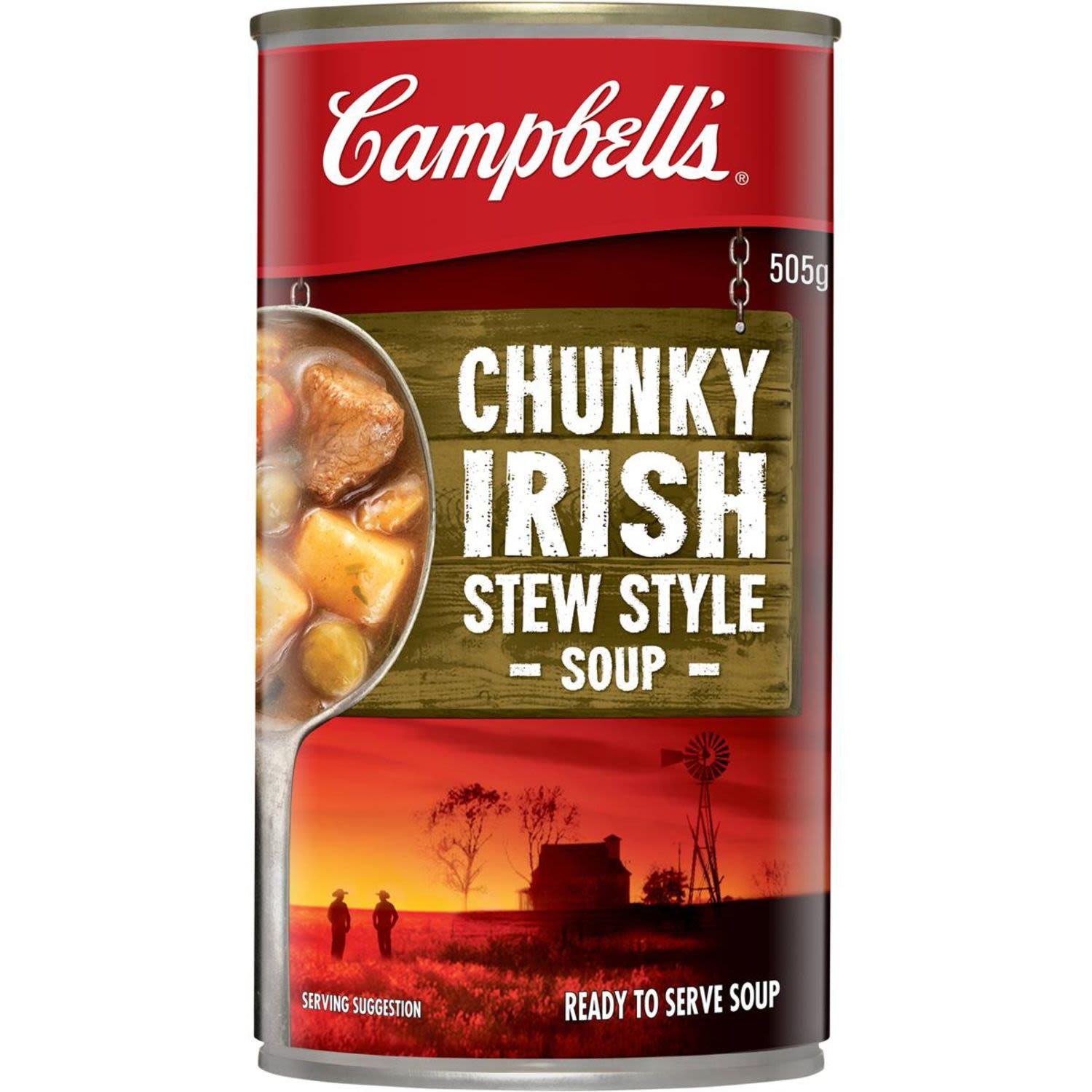 Campbell's Chunky Canned Soup Hearty Irish Stew, 505 Gram