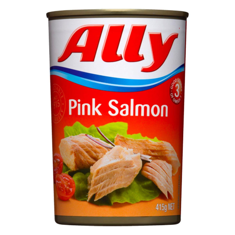 Ally Pink Salmon, 415 Gram