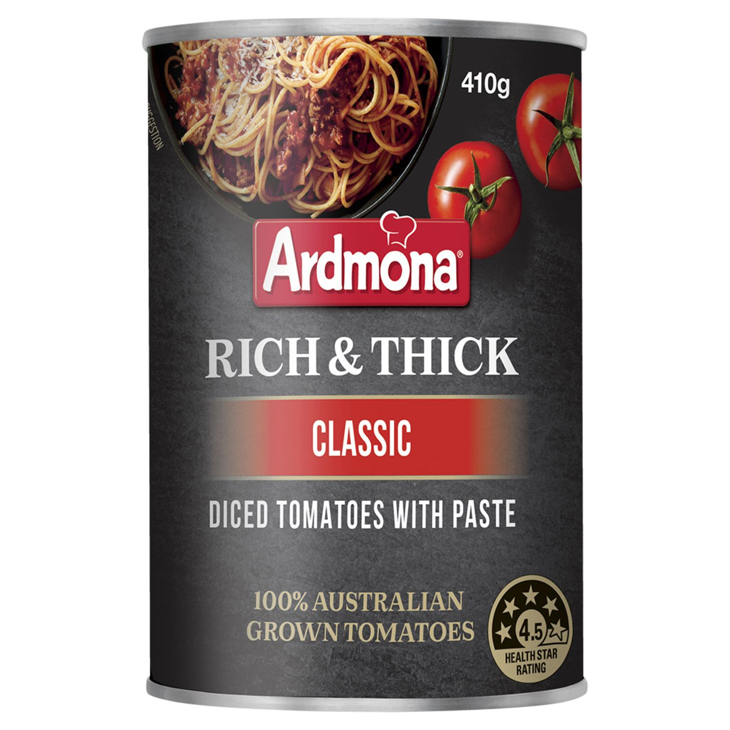 Ardmona Rich & Thick Diced Tomatoes with Paste Classic, 410 Gram