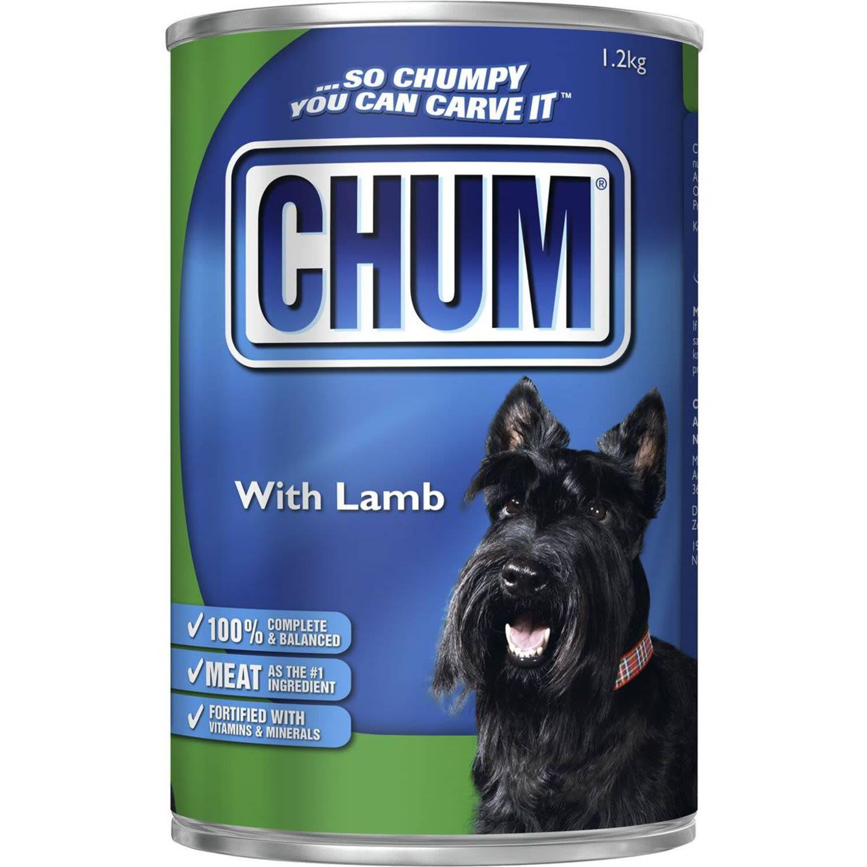 Chum Adult Dog Food Lamb, 1.2 Kilogram