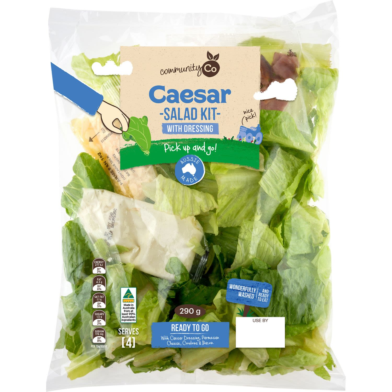 Community Co Caesar Salad Kit, 290 Gram