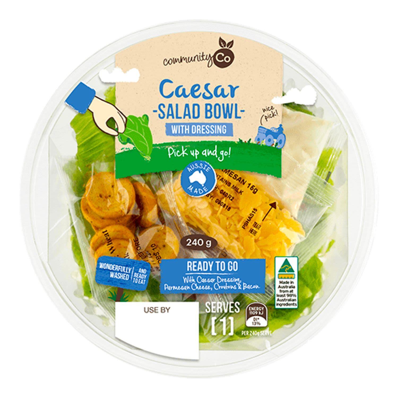 Community Co Caesar Salad Bowl, 240 Gram