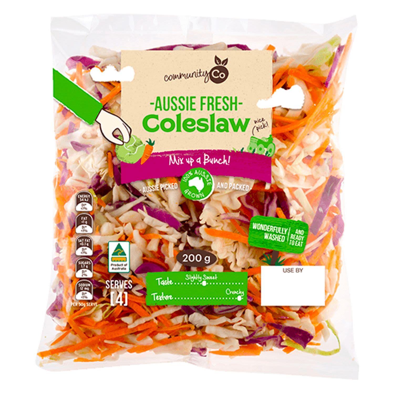 Community Co Coleslaw, 200 Gram