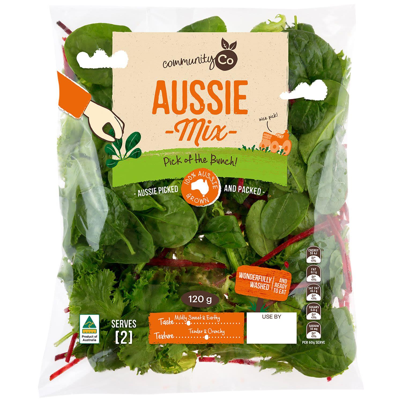 Community Co Aussie Salad Mix, 120 Gram