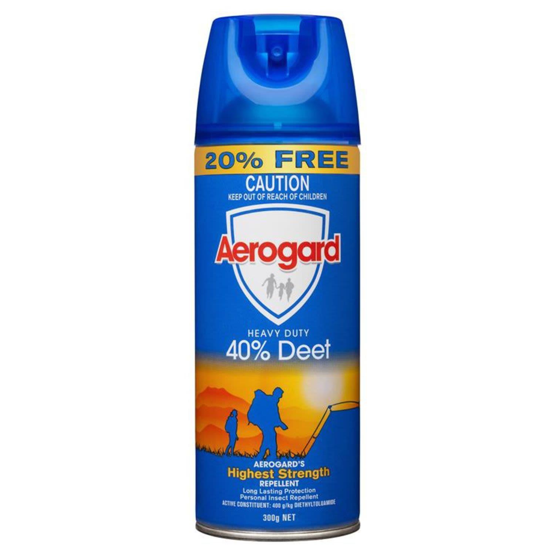 Aerogard Aero 40% Deet, 300 Gram