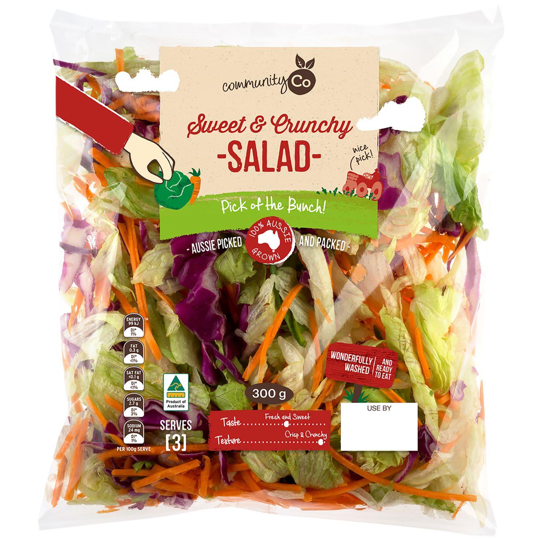 Community Co Sweet Crunchy Salad, 300 Gram