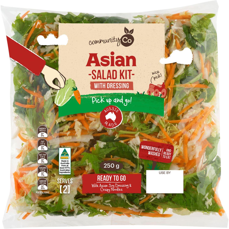 Community Co Asian Salad Kit, 250 Gram
