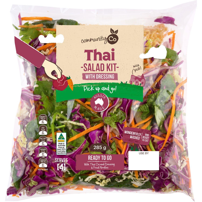 Community Co Salad Kit Thai, 285 Gram