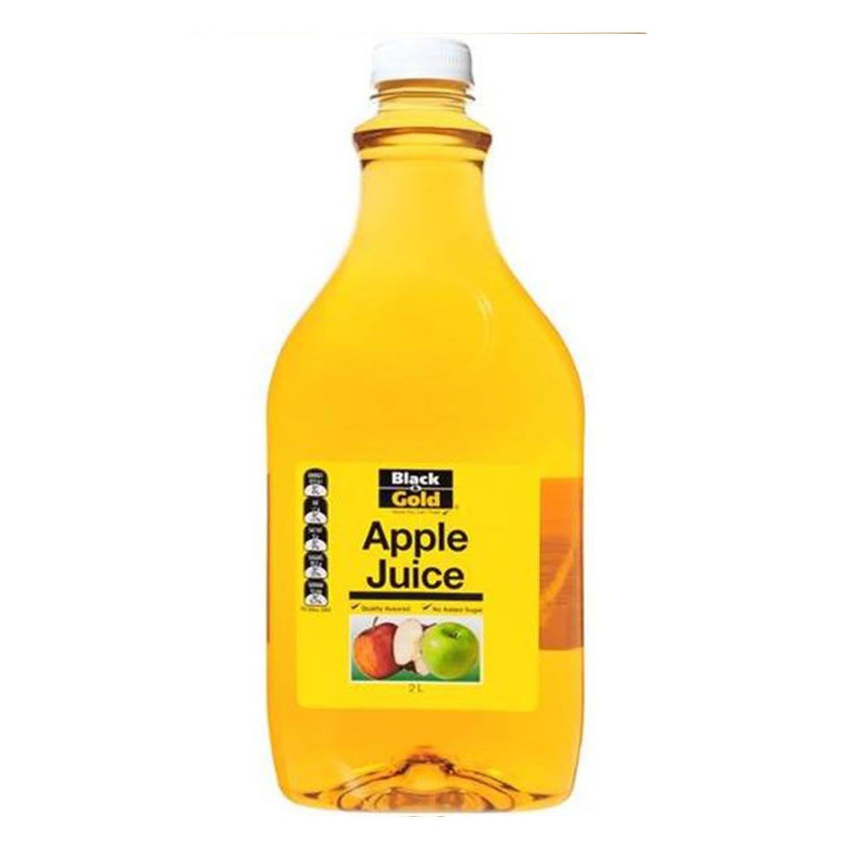 Black & Gold Apple Juice, 2 Litre
