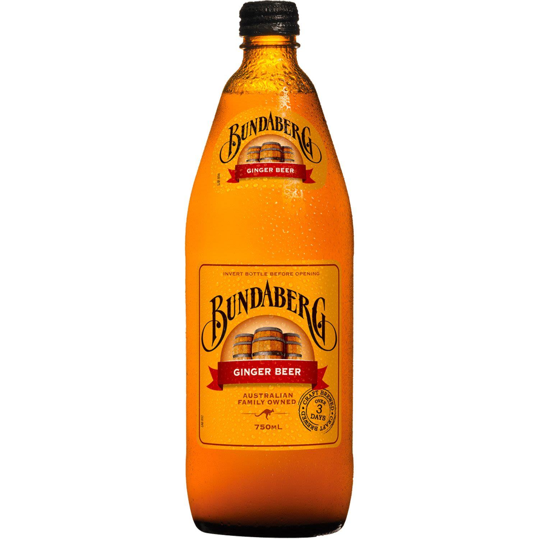 Bundaberg Ginger Beer, 750 Millilitre