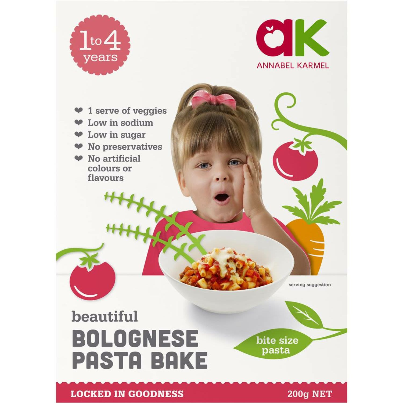Annabel Karmel Pasta Bake Bolognese, 200 Gram