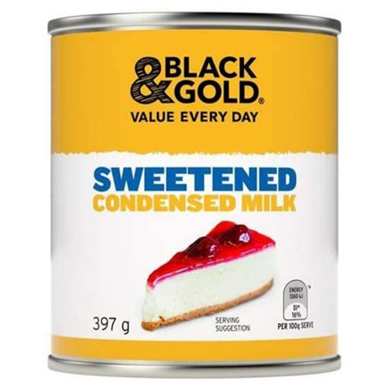 Black & Gold Sweetened Condensed Milk, 397 Gram