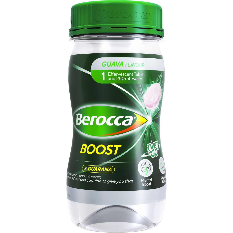 Berocca Boost Twist N Go Energy Vitamin With Guarana Drink, 250 Millilitre