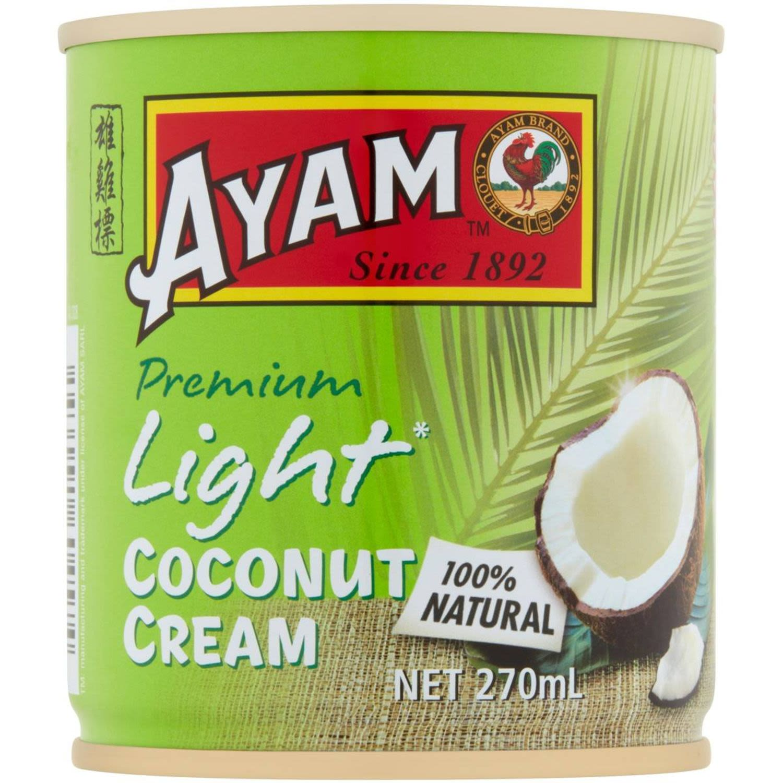 Ayam Coconut Cream Light, 270 Millilitre