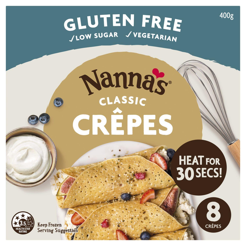 Nanna's Classic Crepes, 8 Each