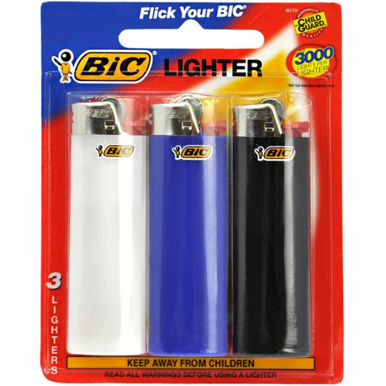 BIC Child Guard Lighter, 3 Each