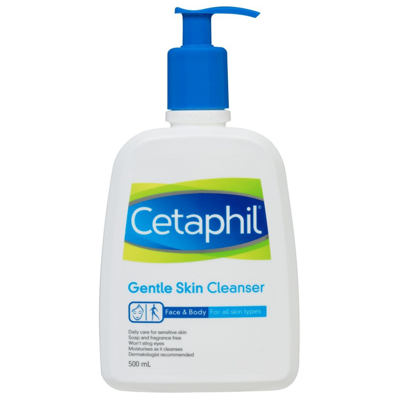 Cetaphil Gentle Skin Cleanser All Skin Types, 500 Millilitre