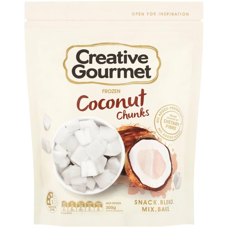 Creative Gourmet Coconut Chunks, 300 Gram