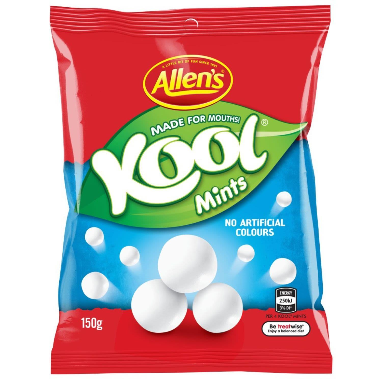 Allen's Kool Mints Chew Lollies Bag, 150 Gram